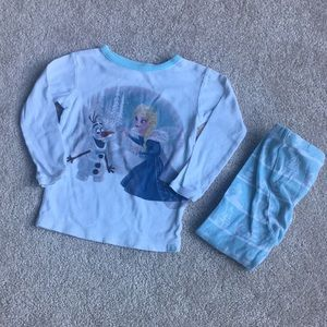 Disney Frozen Anne and Elsa Pajama Set 2T